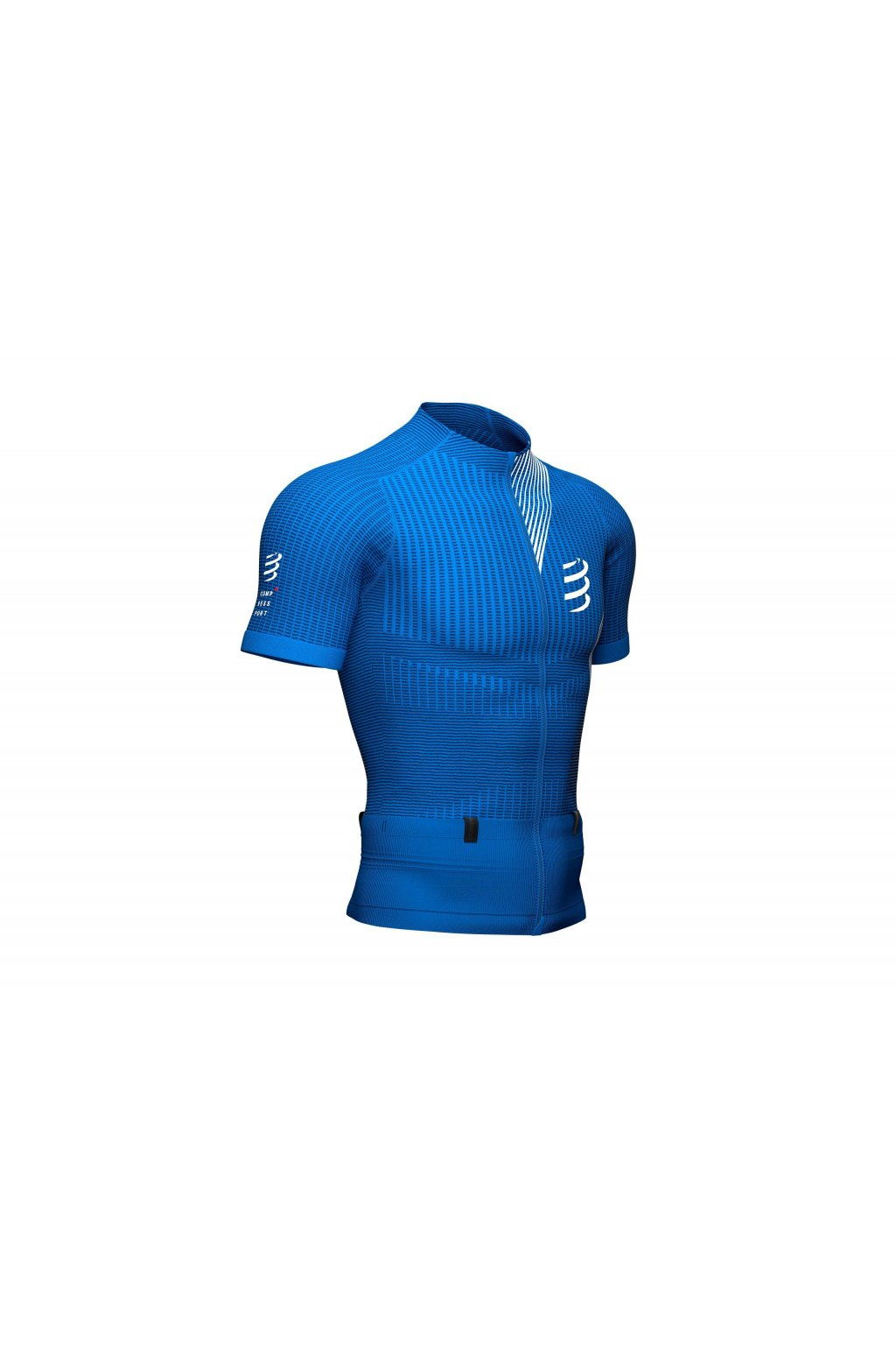 trail postural compression tshirt top blue lolite