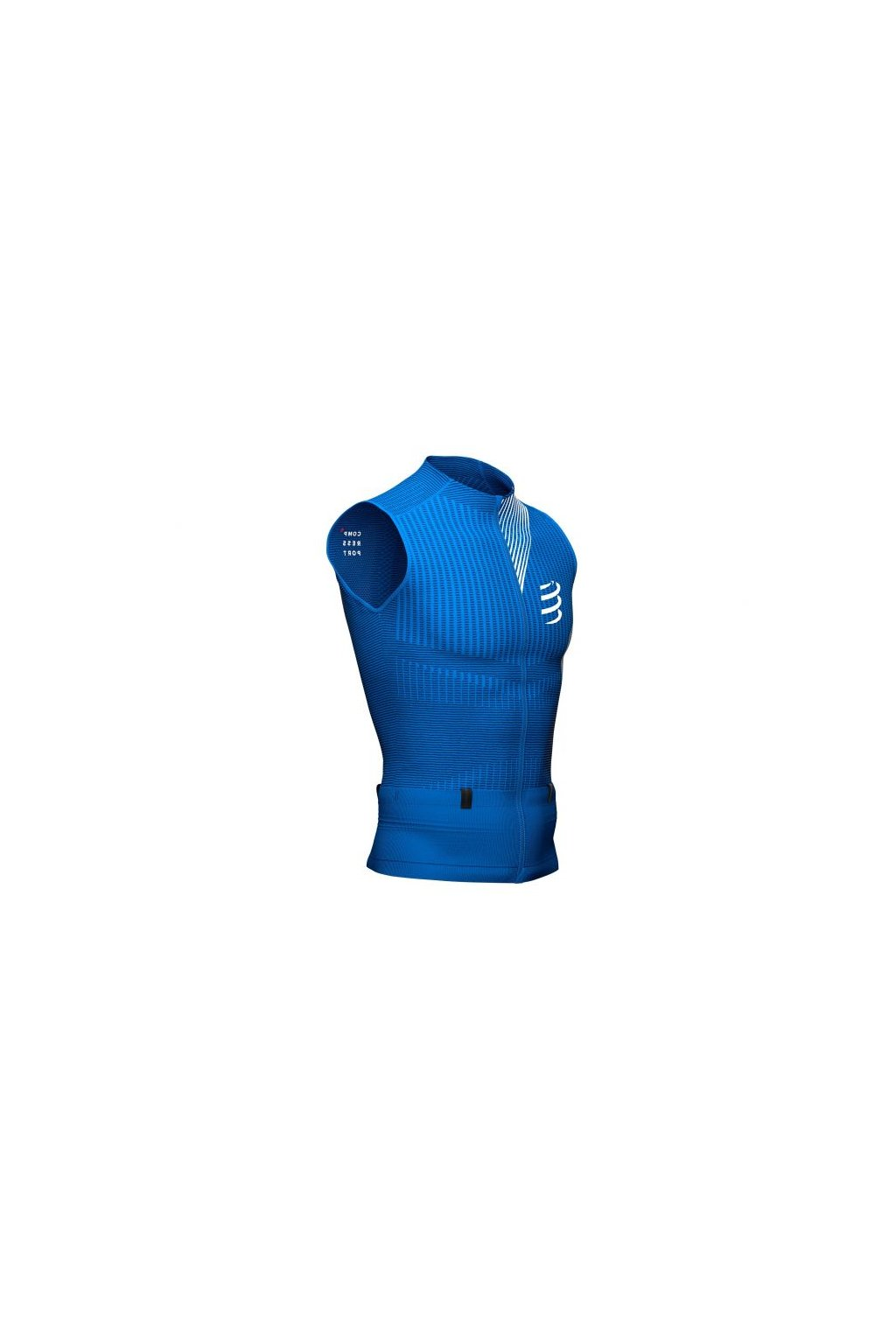 trail postural compression tank top blue lolite