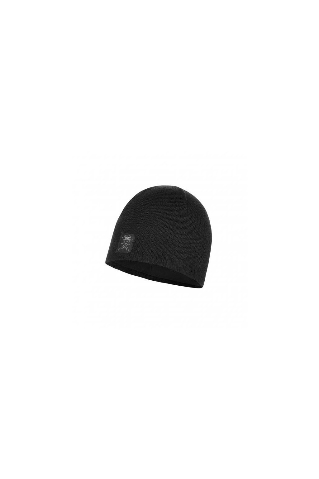 knitted polar hat buff solid black 1135199991000