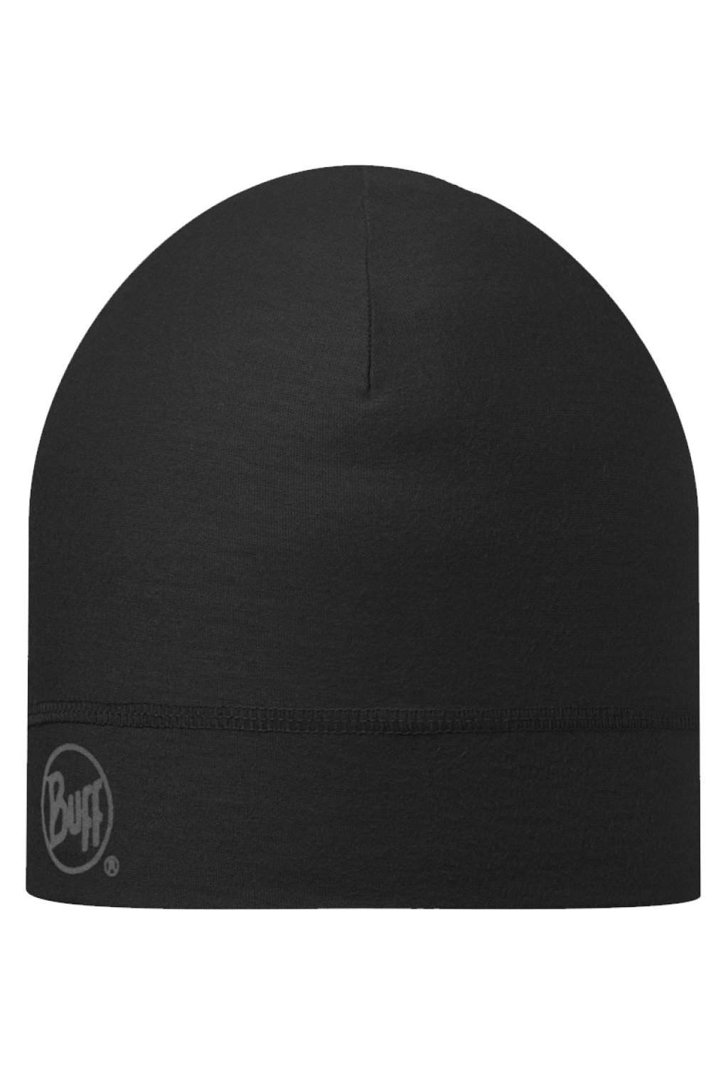 COOLMAX 1 LAYER HAT BUFF SOLID BLACK