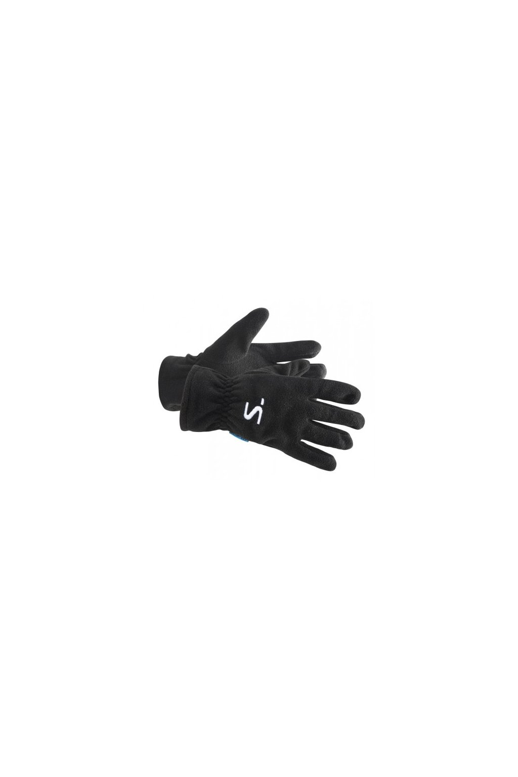 salming running fleece gloves black m