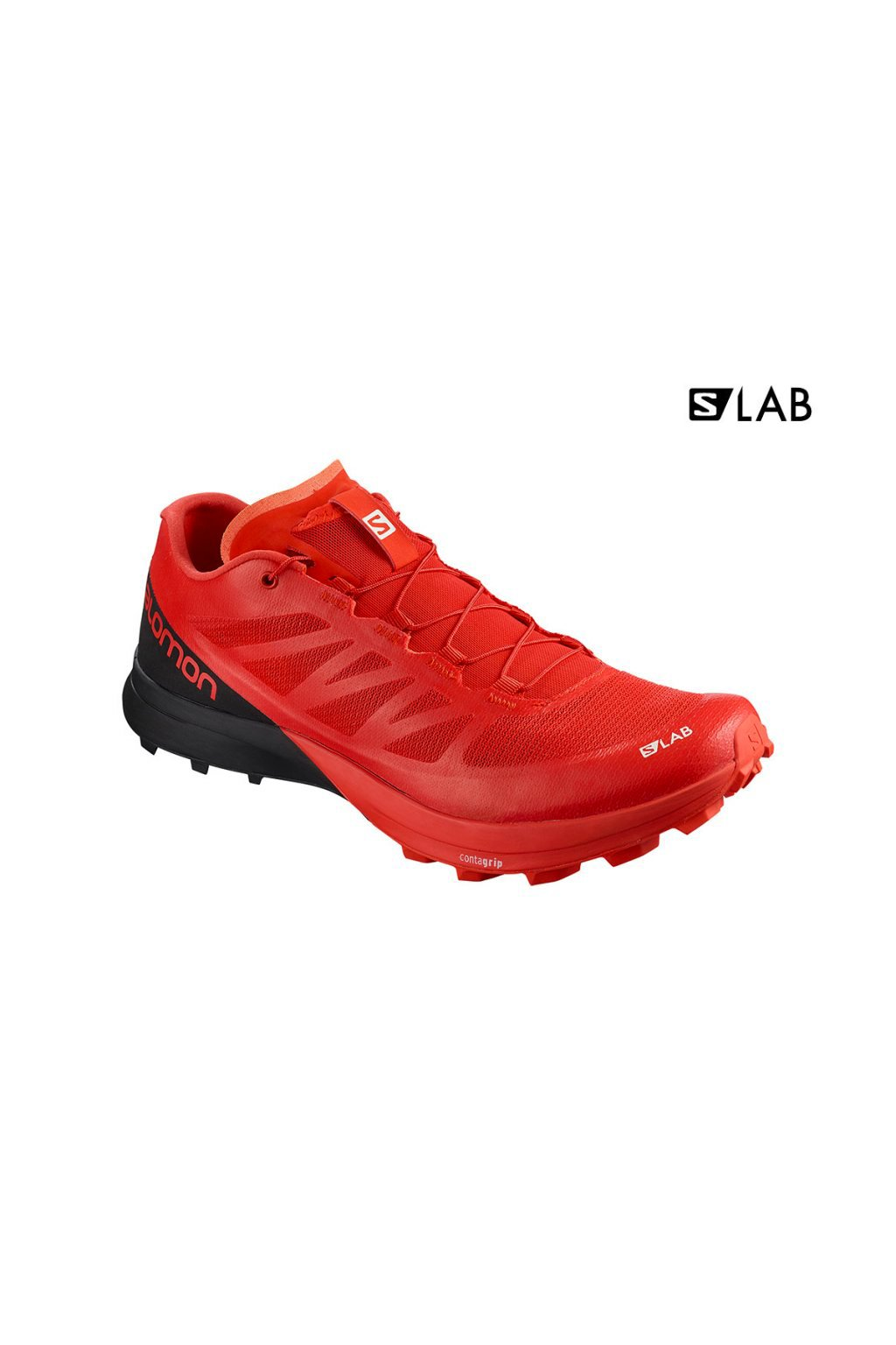 Obuv S/LAB SENSE 7 SG Racing Red/Bk/Wh