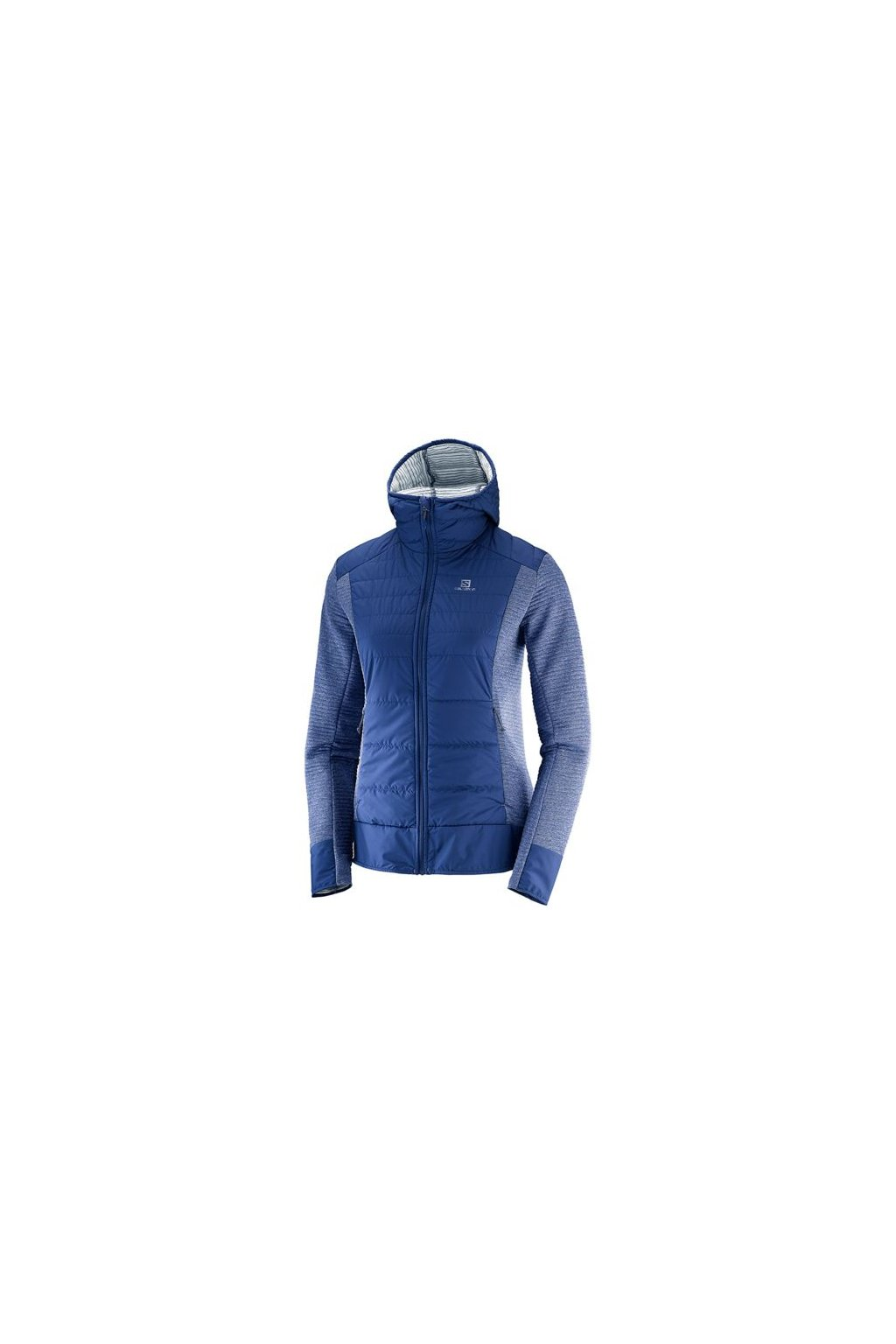 opplanet salomon right nice hybrid hoodie womens medieval blue extra large l40369700 xl main