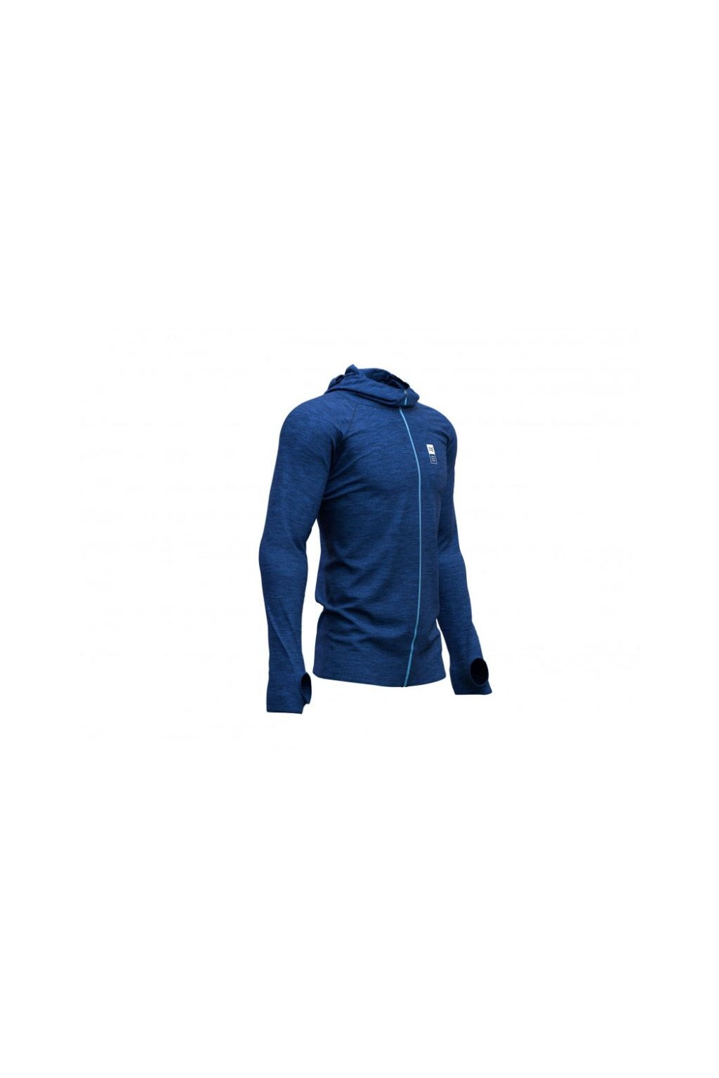 3d thermo seamless hoodie zip mont blanc 2019