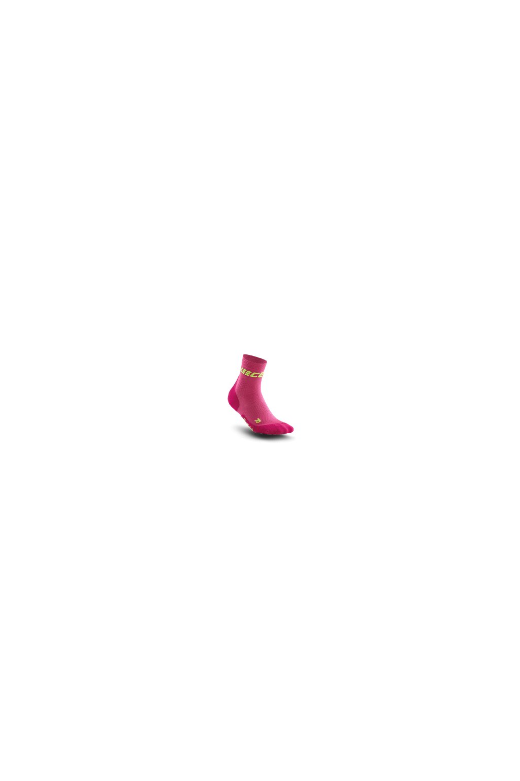 ultralight short socks electric pink