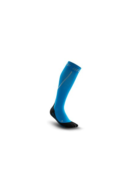 winter run socks electricblue black