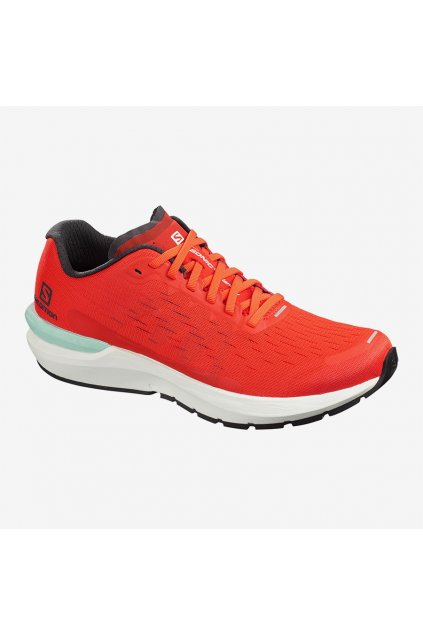 SALOMON OBUV SONIC 3 Balance CHERRY TOMATO White Black