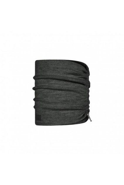 merino wool fleece neckwarmer buff graphite 1241199011000