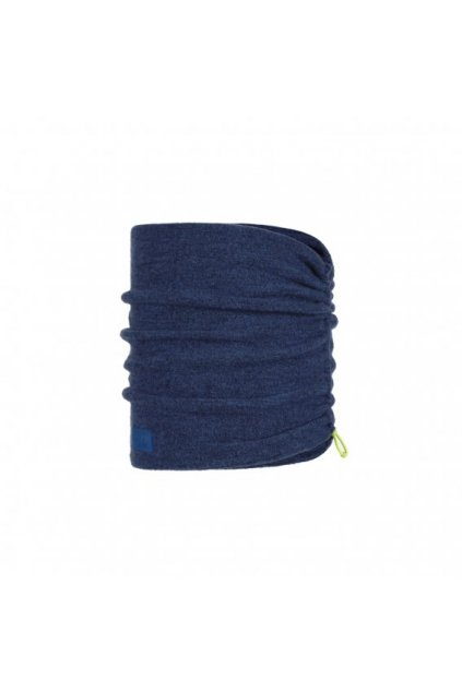 merino wool fleece neckwarmer buff olympian blue 1241197601000