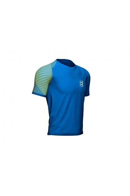 mens running tshirt blue lolite