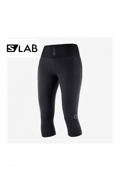 SALOMON S/LAB NSO MID TIGHTS W Black