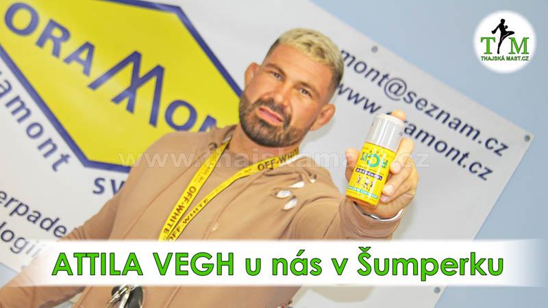 Attila Vegh u nás v Šumperku