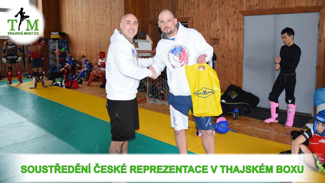 Soustředění České Reprezentace thajského boxu a produkty Namman Muay