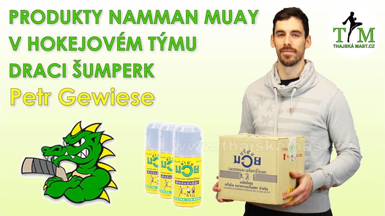 Zkušenosti hokejistů s produkty Namman Muay