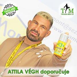 Attila Végh doporučuje produkty Namman Muay z e-shopu ThajskáMast.cz