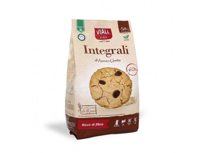 Ovesné sušenky s rozinkami bezlepek