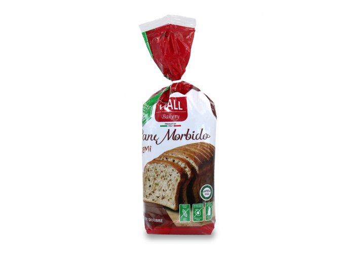 bezlepkový chléb se slunečnicovými a lnenými semínky