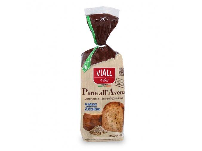 Bezlepkový chléb s ovesnou moukou