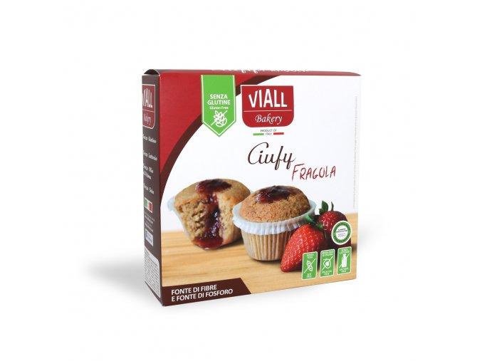 jahodové muffiny bezlepkové
