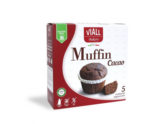 kakaové muffiny bezlepkové