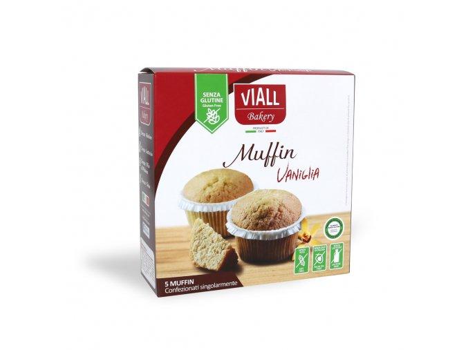 Vanilkové muffiny bezlepkové