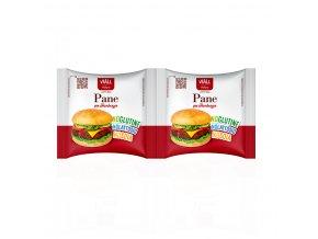 Bezlepkové housky na hamburger