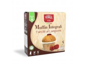 pohankové muffiny malina bezlepkové
