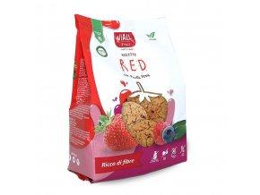 Sušenky s lesním ovocem bezlepkové