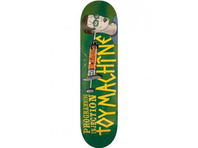 toy machine skateboard decks programming injection green vorderansicht 0263881 600x600
