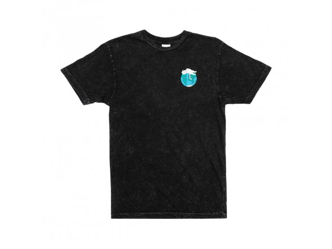 RIPNDIP EARTHGAZING TEE BLACK/MINERAL WASH