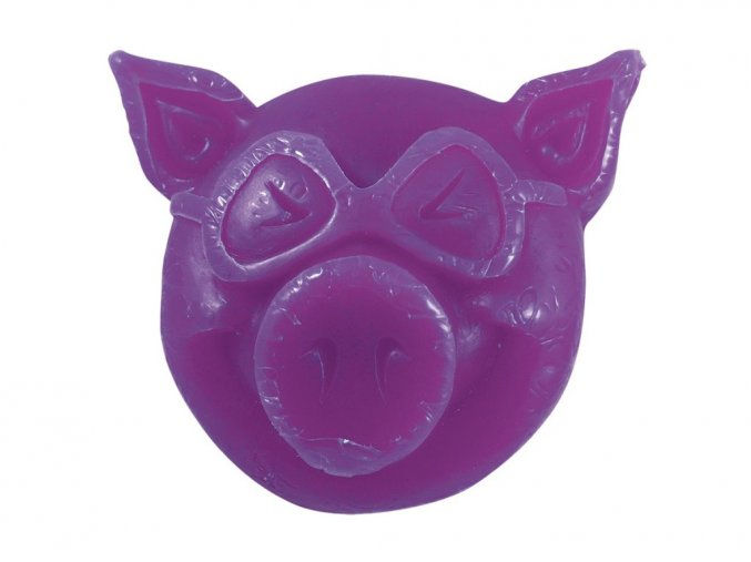 16385 1 pig wheels wax purple