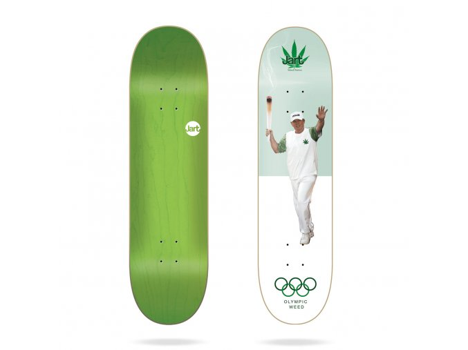 jart weed nation olympic weed 8 25 deck