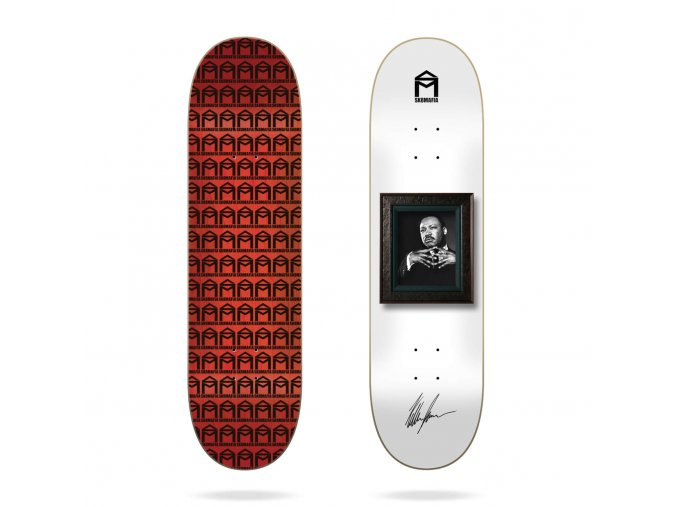 product s k sk8mafia kellen james wall bangers 8 skateboard deck