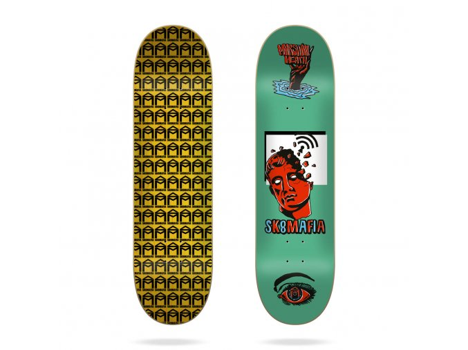 product s k sk8mafia marshall heath ward 8 1 skateboard deck