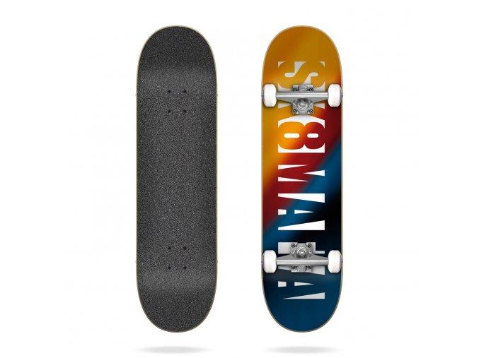 sk8mafia og logo blur 8 0 complete skateboard 3