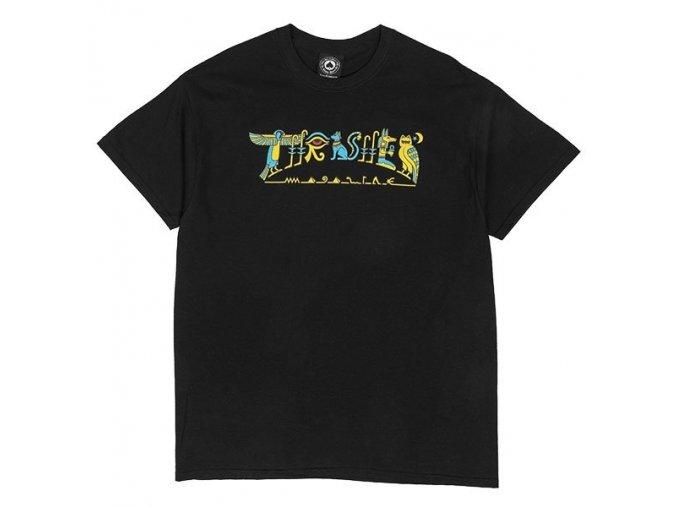 hieroglyphic black t shirt flat 600px