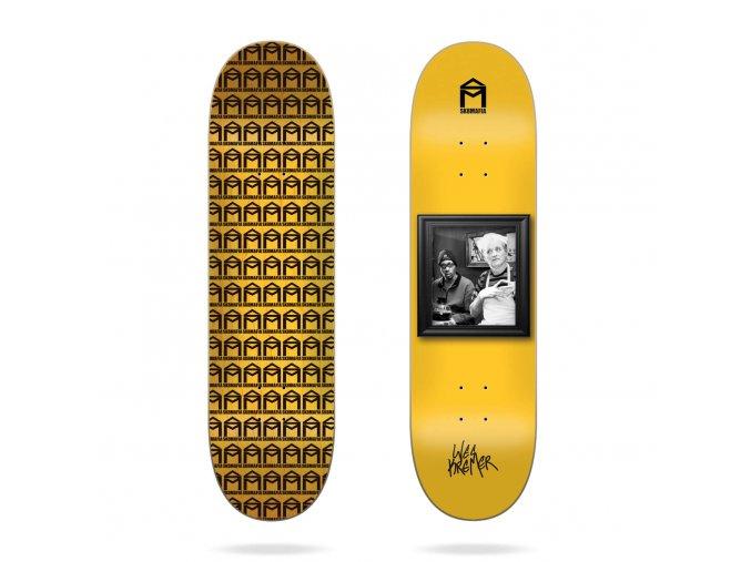 product s k sk8mafia wes kremer wall bangers 8 25 skateboard deck