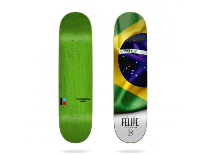 product p l plan b felipe roots 8 skateboard deck