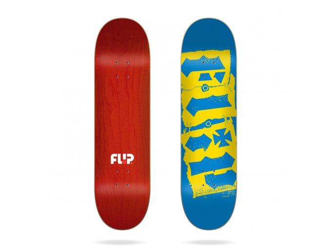 product f l flip team destroyer blue 8 0 skateboard deck