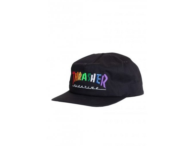 thrasher rainbowmagblack headwear snapback 572590black art20 009015 010202045297 434974 472 lg