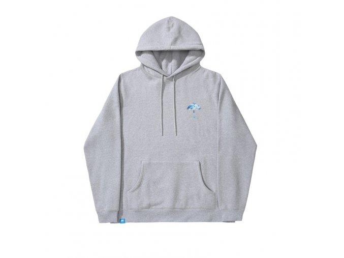 cloudio hoodie heather grey 2