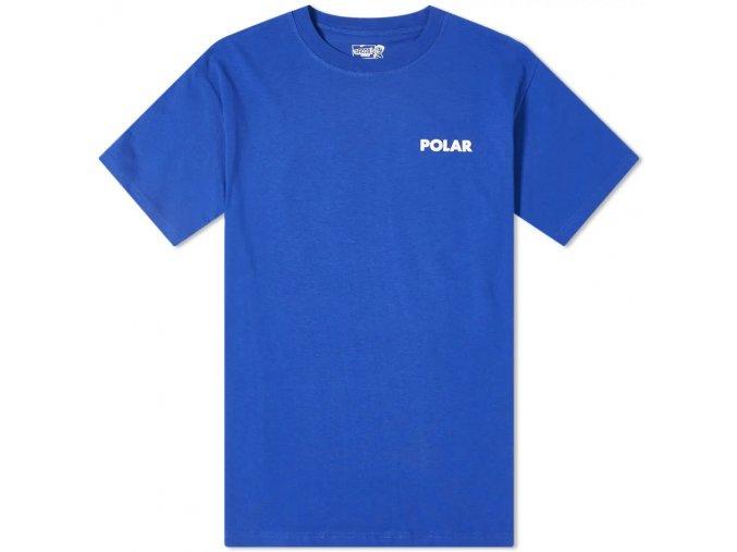 polar skate co staircase tee egyptian blue psc staircasetee bl 1