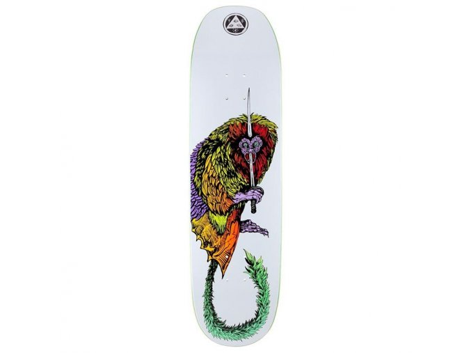 welcome tamarin on moontrimmer 2 0 8 5 skateboard deck