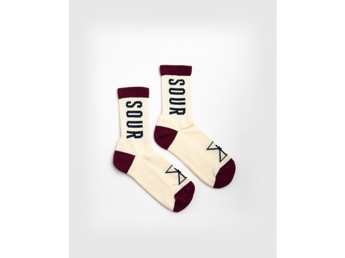 SOUR SP21 078 socks sourCream