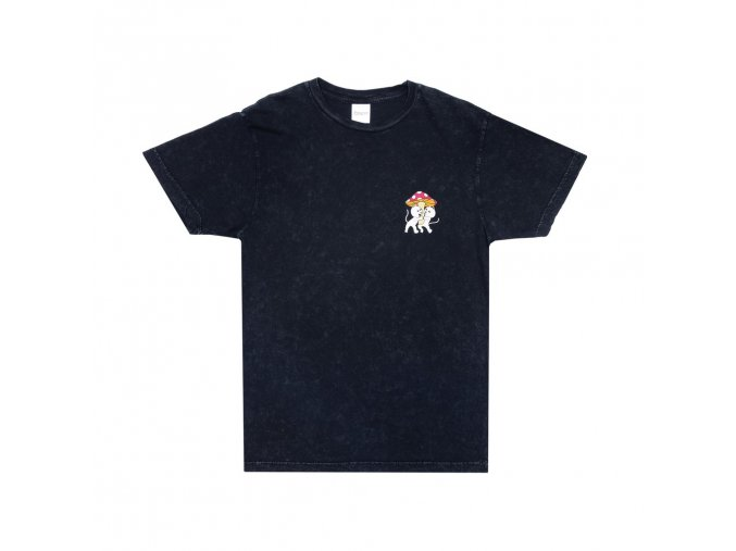 Sharing Is Caring Tee (Black Mineral Wash) 3