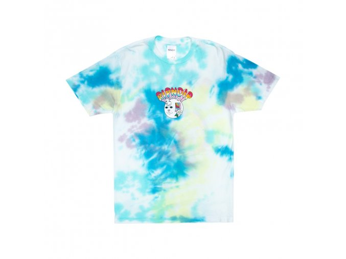 Out Of The Box Tee (Blue: Yellow Tie Dye)