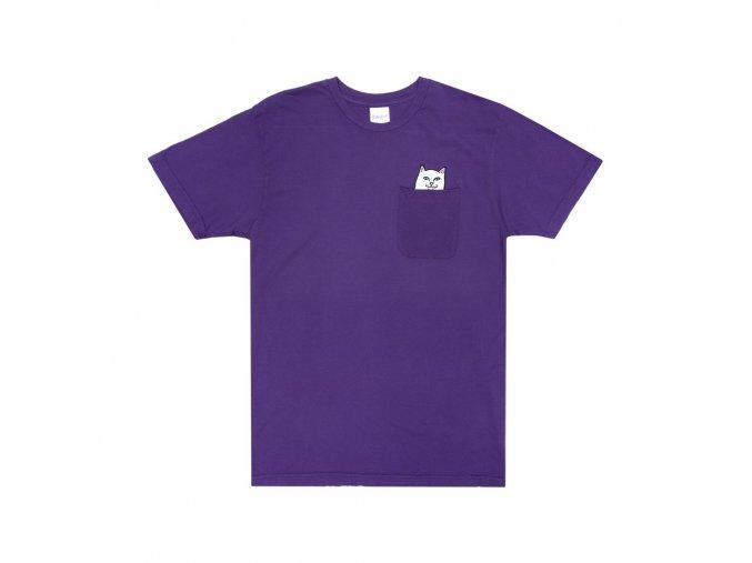 Lord Nermal Pocket Tee (Purple)