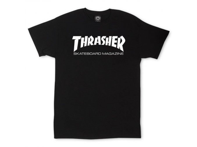 THRASHER SKATEMAG BLACK