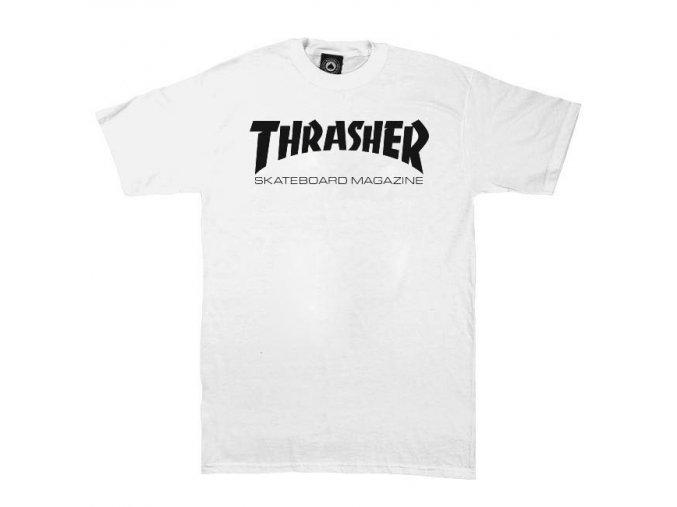 tricko thrasher skate mag white 2
