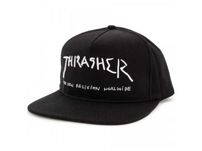 Thrasher New Religion Snapback Black